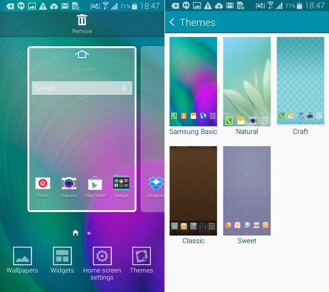 TouchWiz Themes