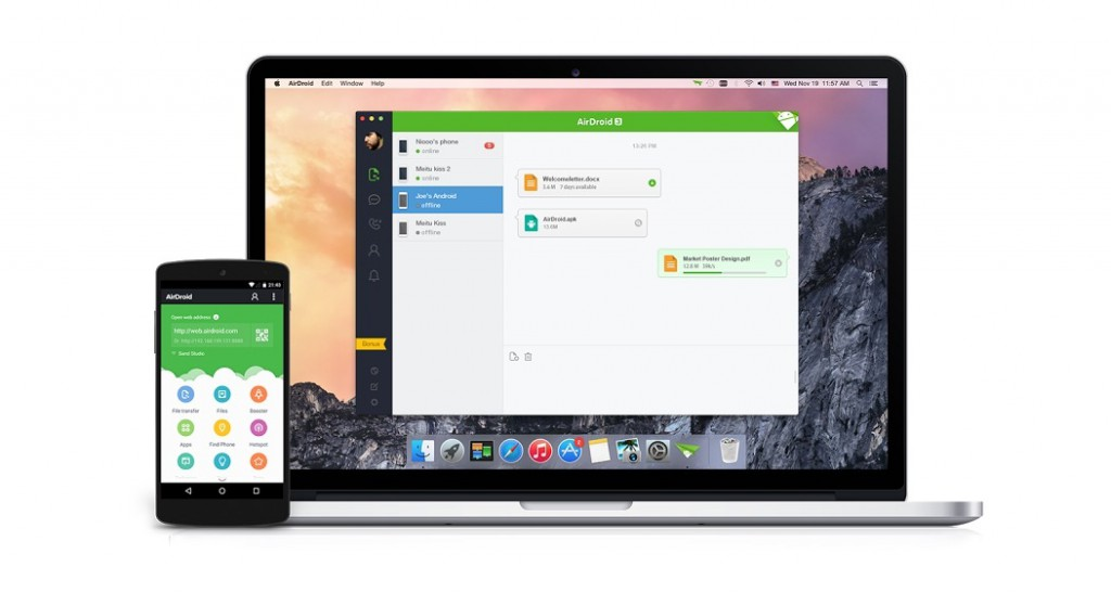 airdroid version bêta pc mac