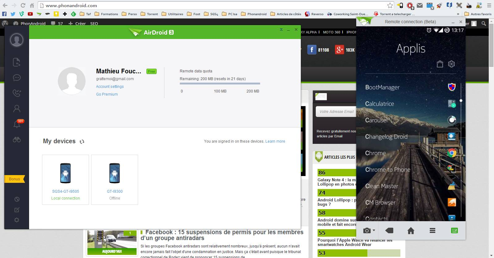 AirDroid 3 Version PC
