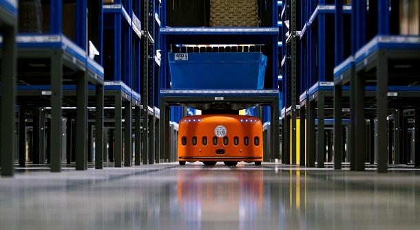 Robot Kiva pour Amazon