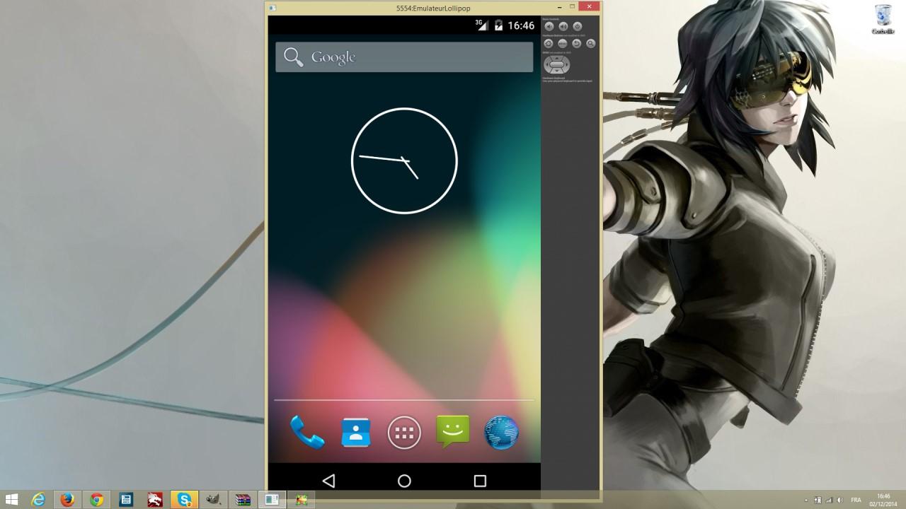 Android Lollipop fonctionne sur PC Windows 8.1