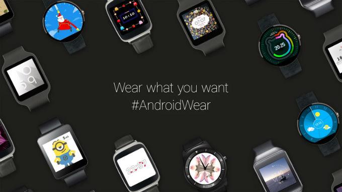 mise à jour android wear