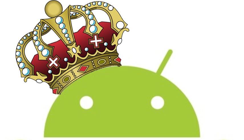 Android est le roi des OS