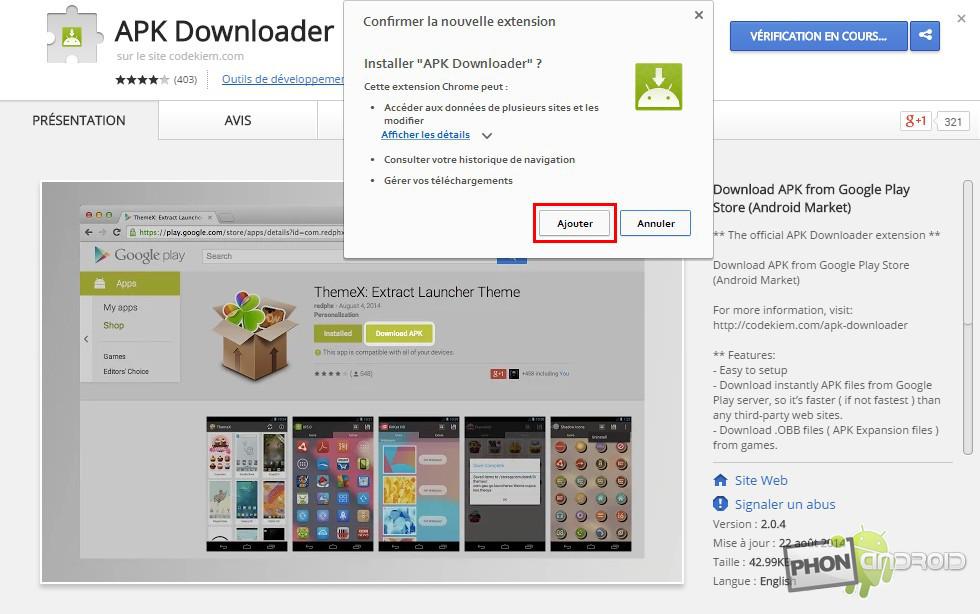 APK sur Play Store Méthode 1 Etape 1