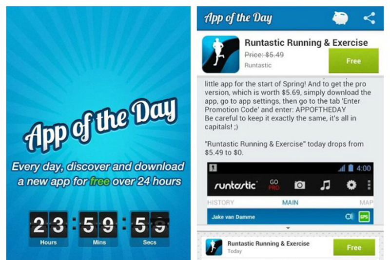 app of the day application payante gratuite