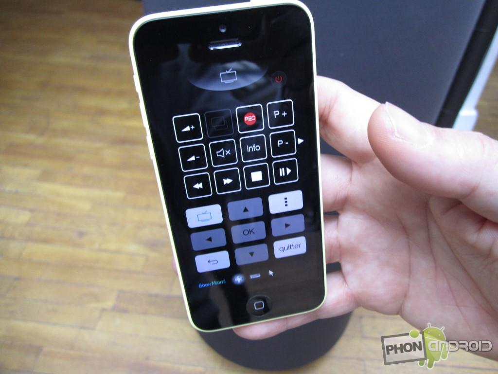 Bbox Miami et l'application sur smartphone
