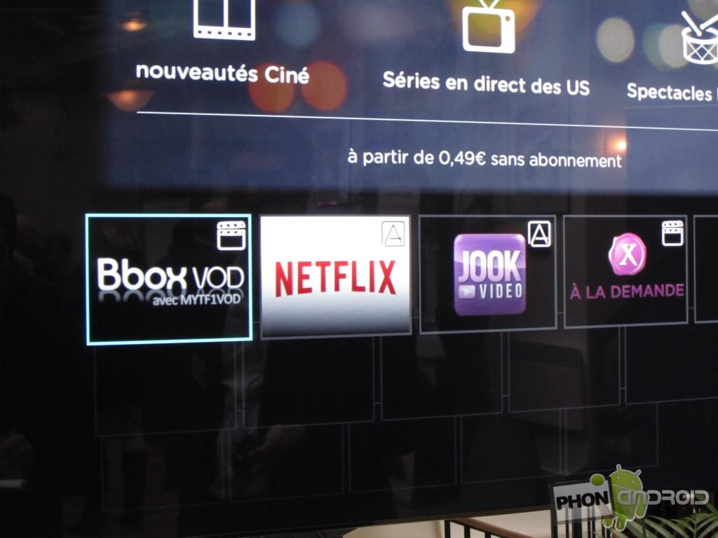 Bbox Miami et les applications de VOD
