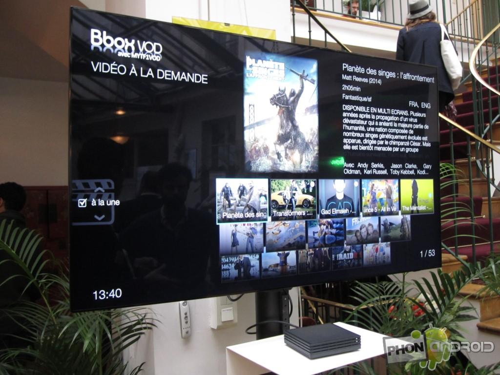 BBox Miami et l'interface VOD