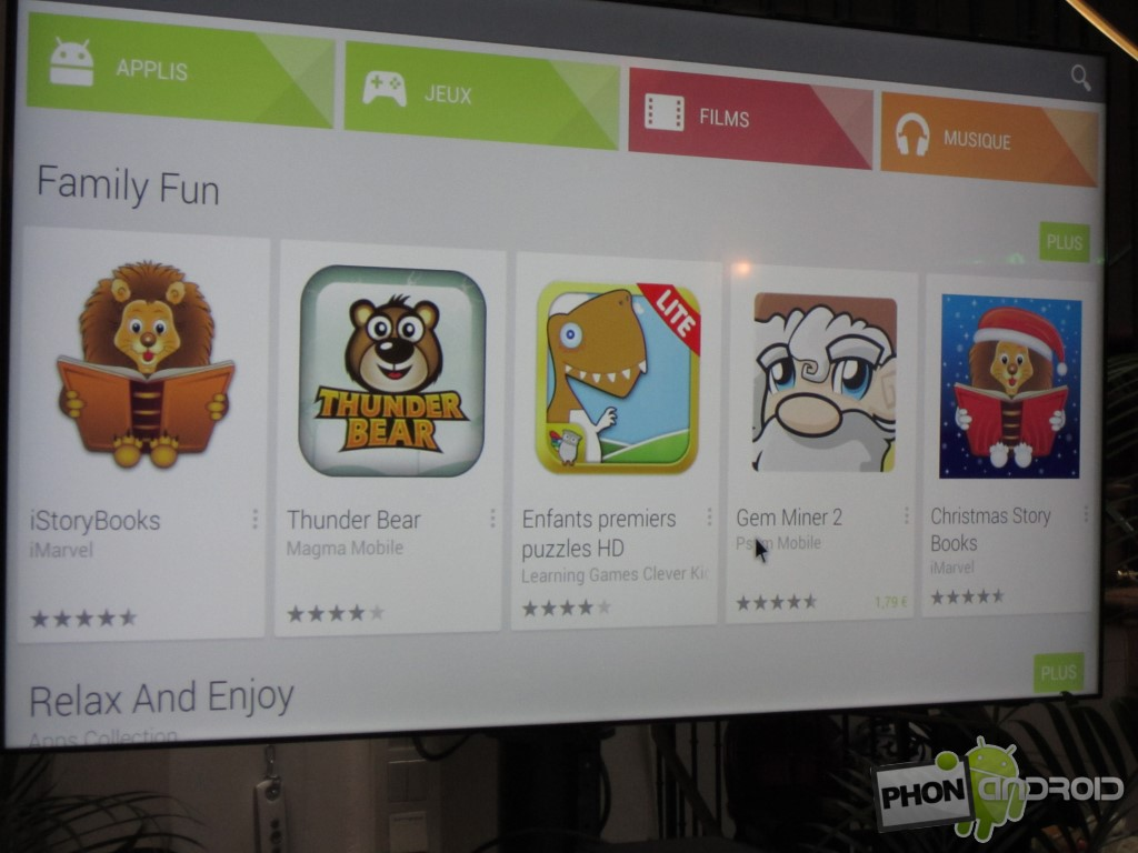 Bbox Miami avec le Play Store