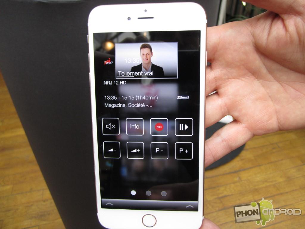 Bbox Miami les programmes et les options d'enregistrement