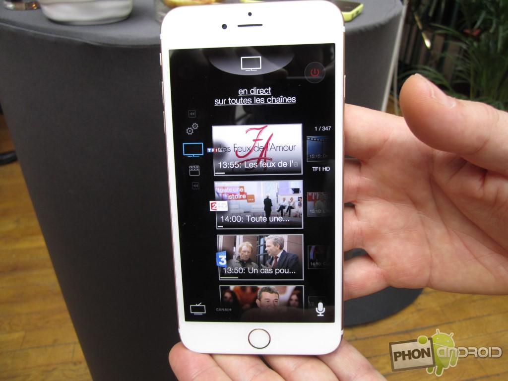 Bbox Miami et les programmes TV sur smartphone