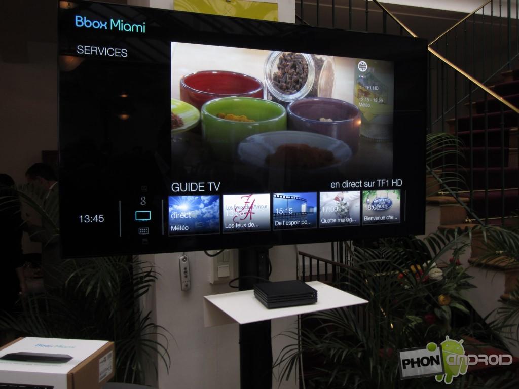 Bbox Miami et les services associés