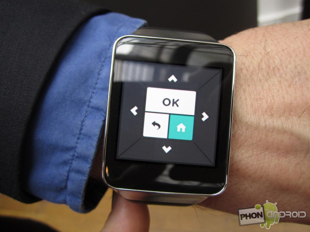 Bbox Miami et l'interface sur smartwatch