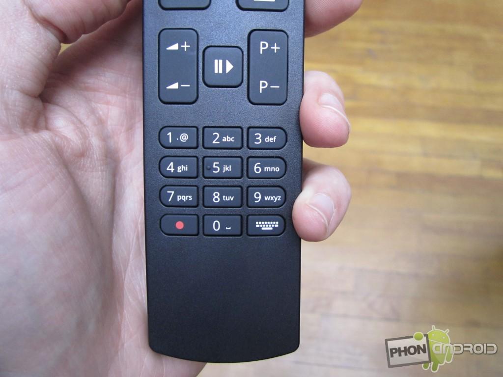 Bbox Miami et la télécommande intégrale