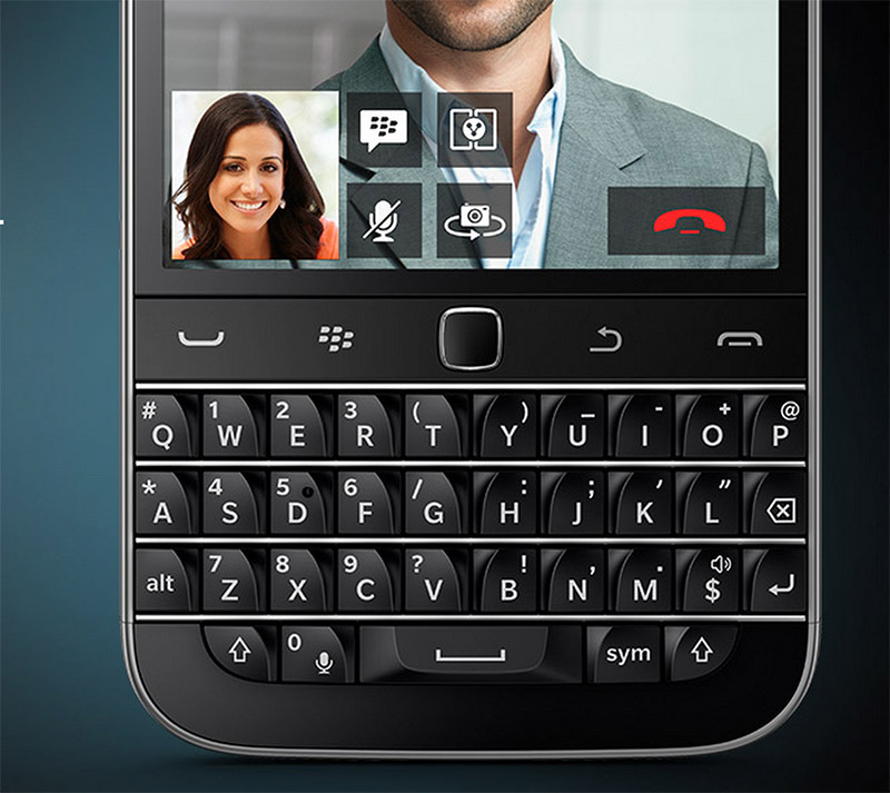 Un BlackBerry Classic