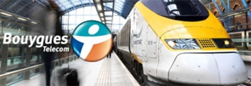 bouygues telecom 4G trains tunnel sous la manche
