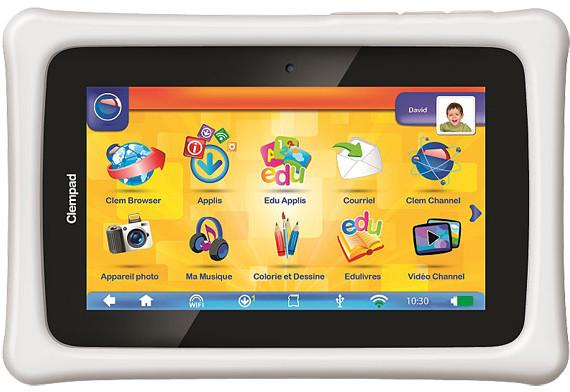 Clempad Plus, la tablette pour enfant