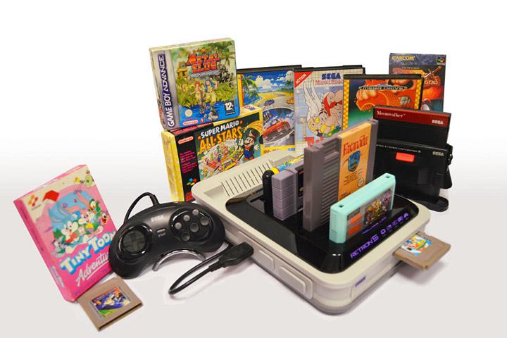 retron 5 la console qui peut lire tous vos vieux jeux. Black Bedroom Furniture Sets. Home Design Ideas
