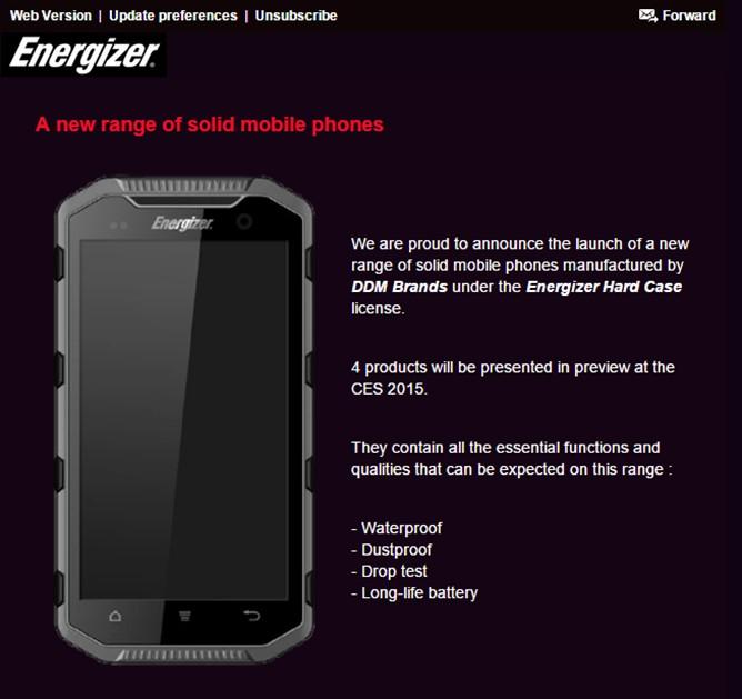 Smartphones Energizer