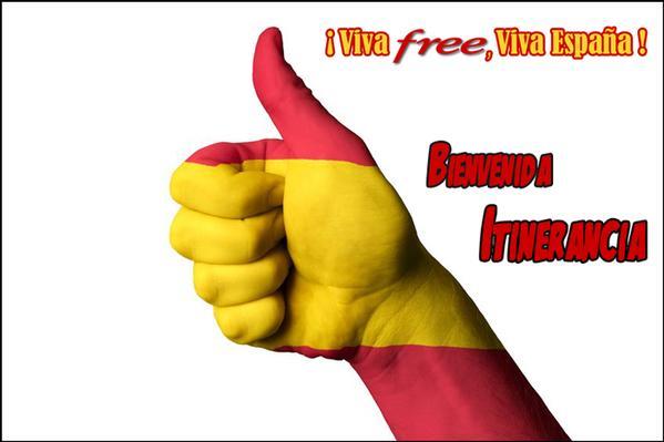 Free Mobile roaming gratuit Espagne