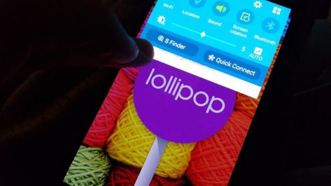 Galaxy Note 4 mise à jour Android 5.0 Lollipop
