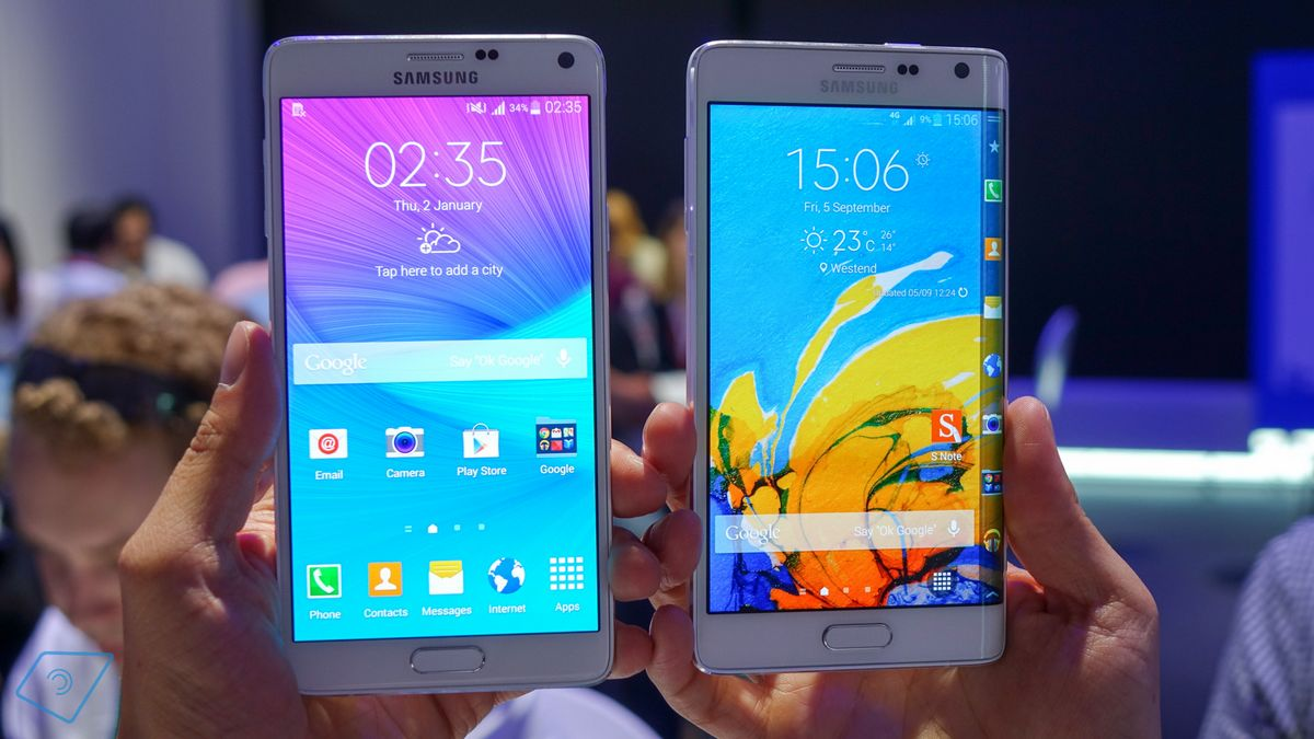 mise à jour Android Lollipop Galaxy Note 4 et Note Edge