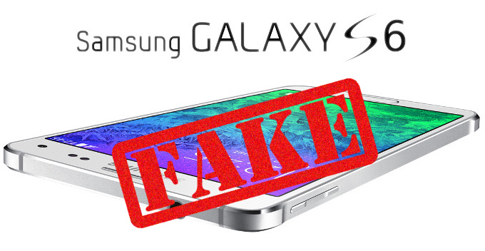 galaxy s6 fausses images