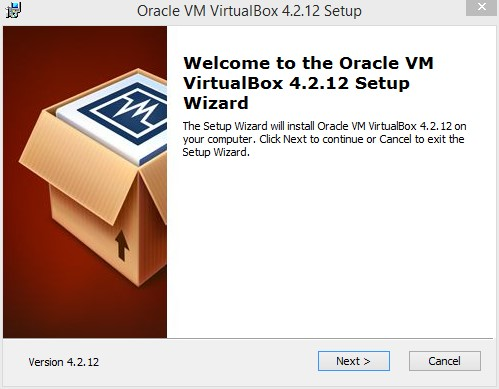 Genymotion installation de VirtualBox