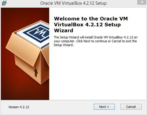 Genymotion installation de VirtualBox