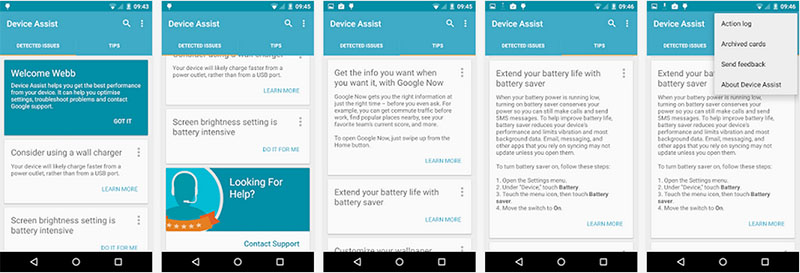 google-device-assist
