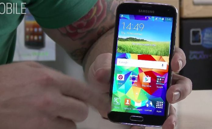 Android Lollipop en janvier sur le Galaxy S5