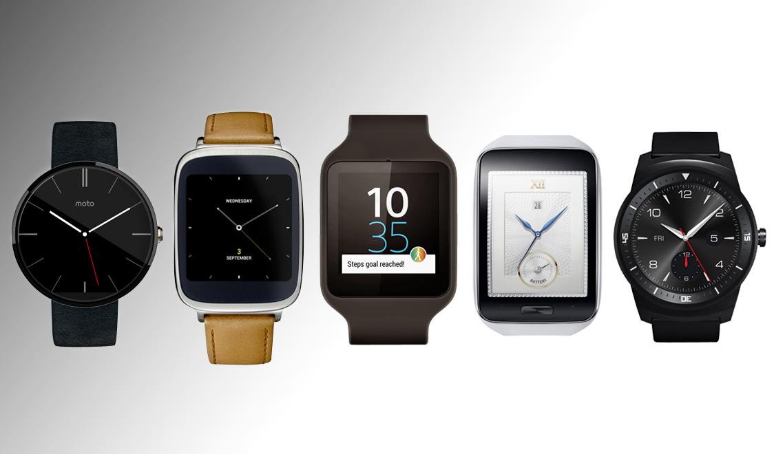 guide achat montres connectées 2014