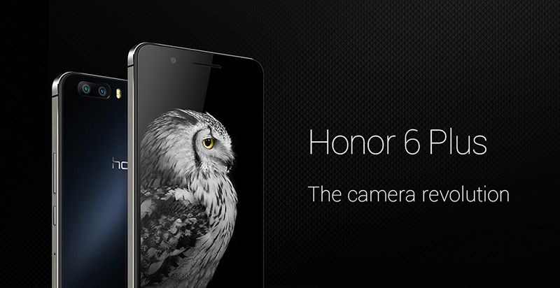 honor 6 plus officiel double capteur