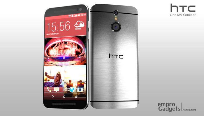 capteur photo HTC One M9