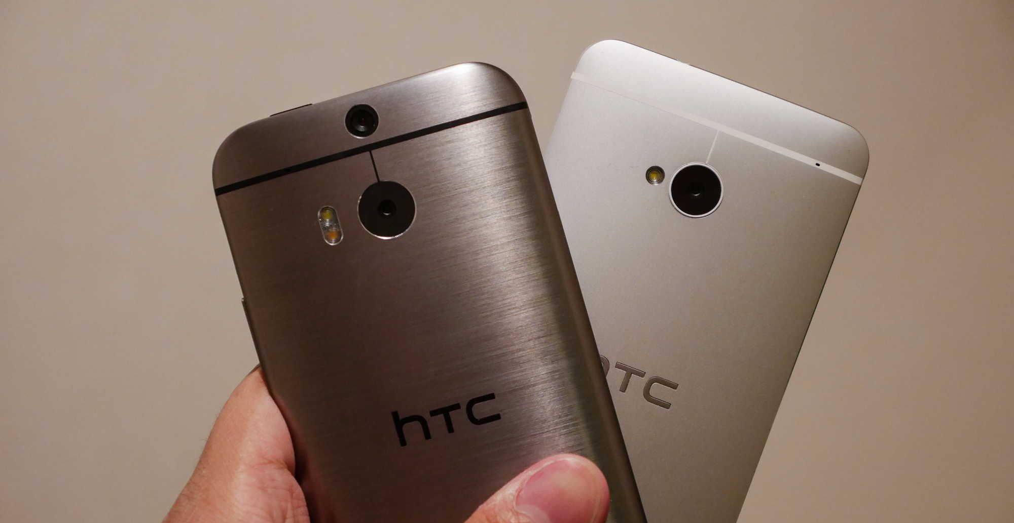 HTC One M8 et M7