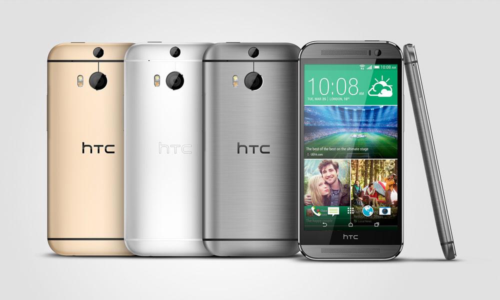 Le HTC One M8 perd sa fonction téléphone !