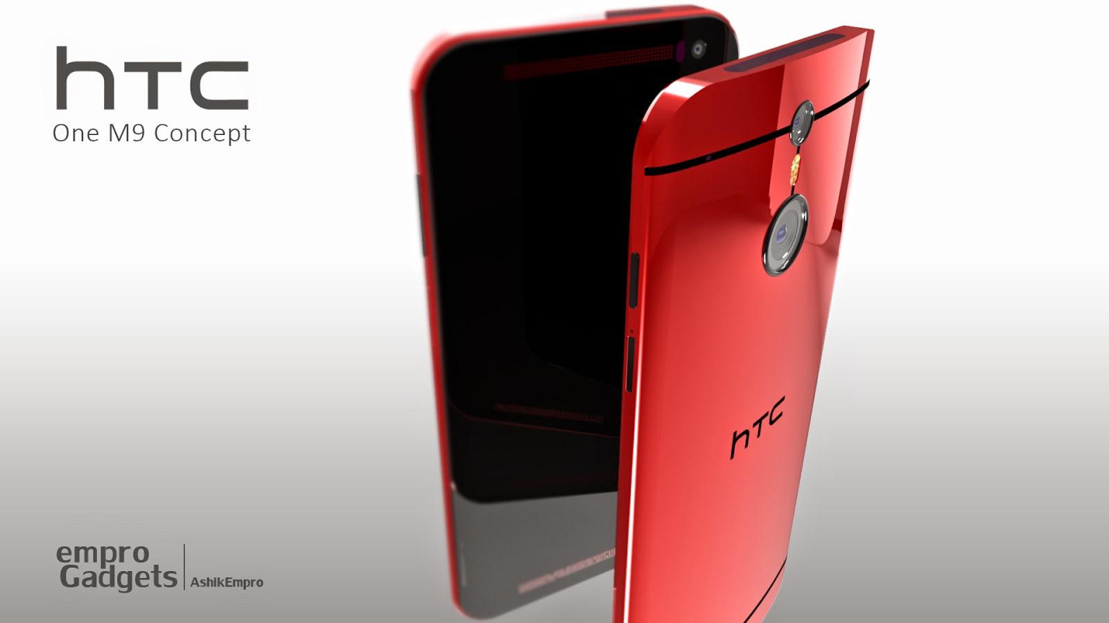 Concept du HTC One M9