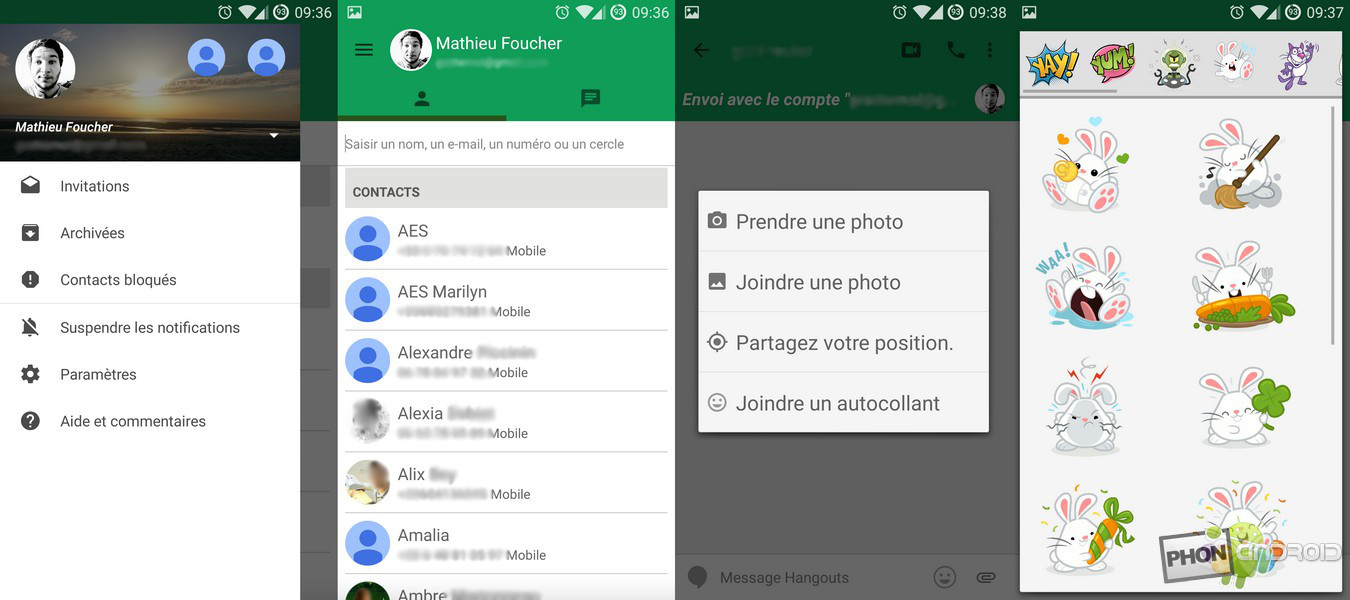 images hangouts updated