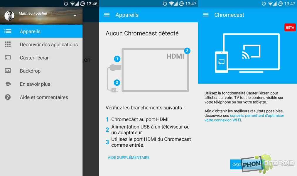 images update chromecast