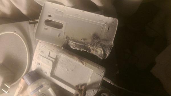 lg g3 batterie brule