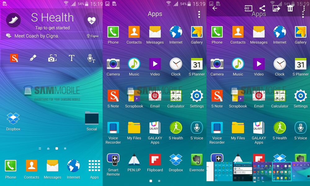 Galaxy Note 4 Android 5.0 Lollipop