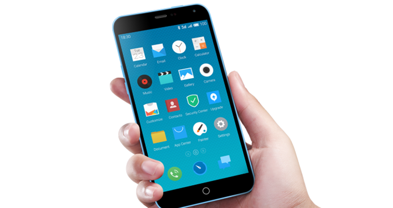 meizu m1 note iphone 5C plus grand