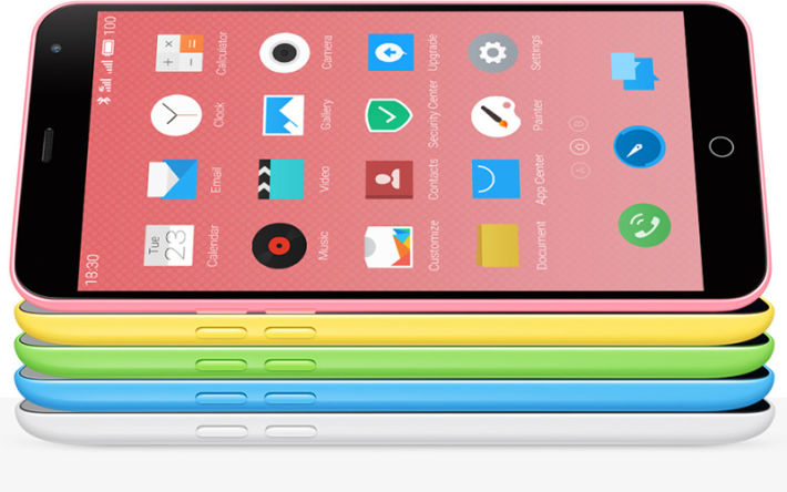 meizu m1 note iphone 5C plus puissant
