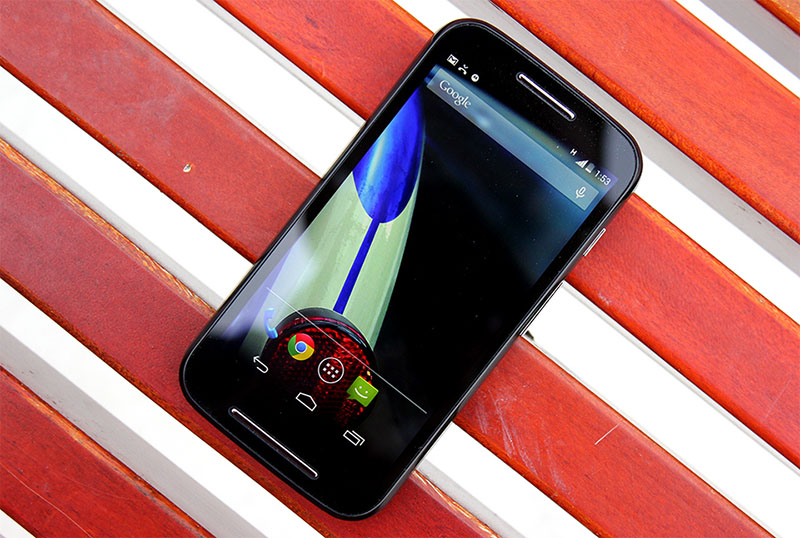 moto e 2015 écran plus grand