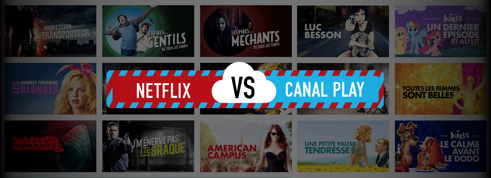 Netflix vs Canal Play et la question du mode hors-ligne