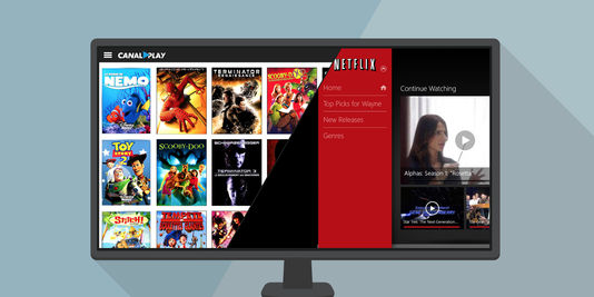 Netflix contre CanalPlay, la VOD en question