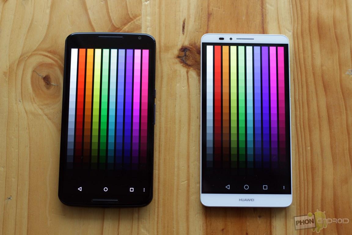 nexus 6 couleur ecran