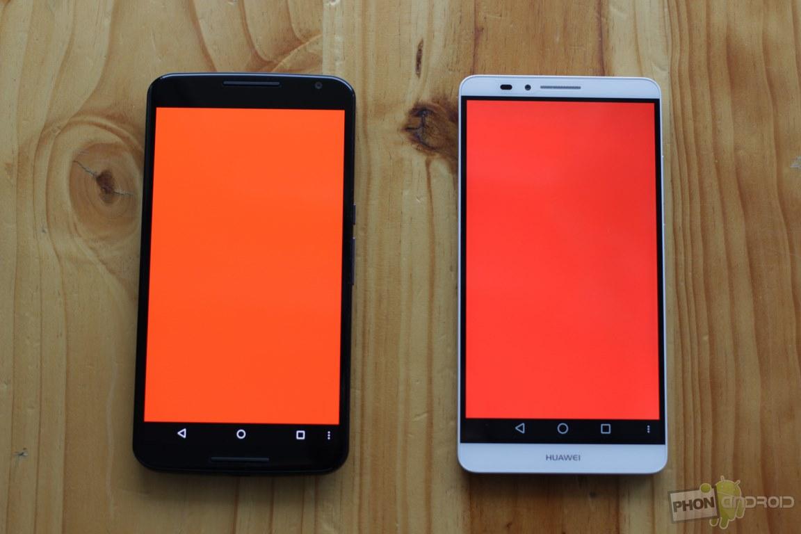 nexus 6 ecran rouge