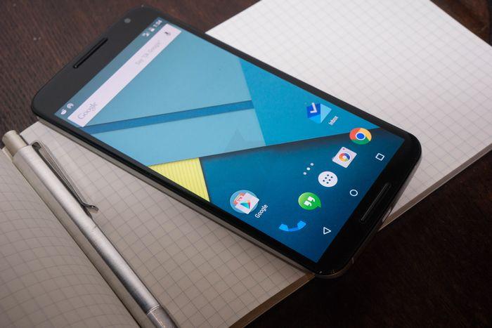 Nexus 6 lecteur d'empreintes