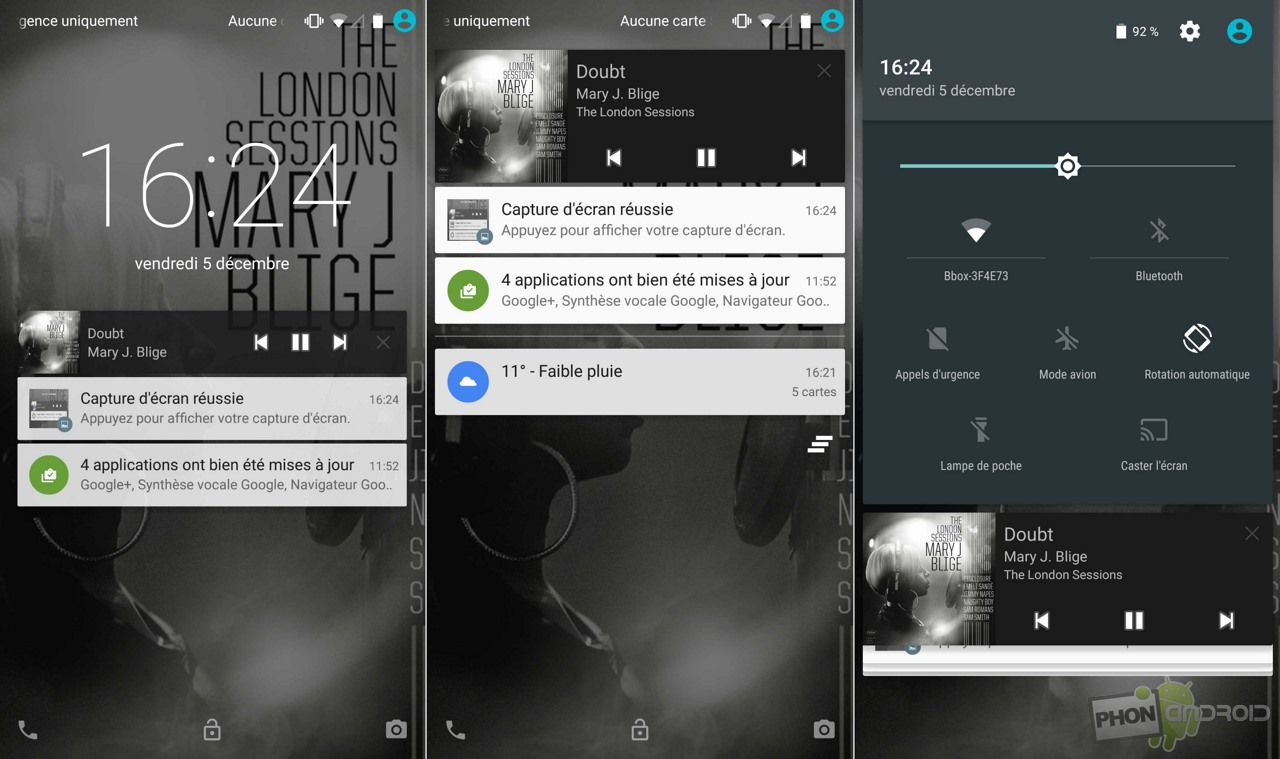 nexus 6 notifications
